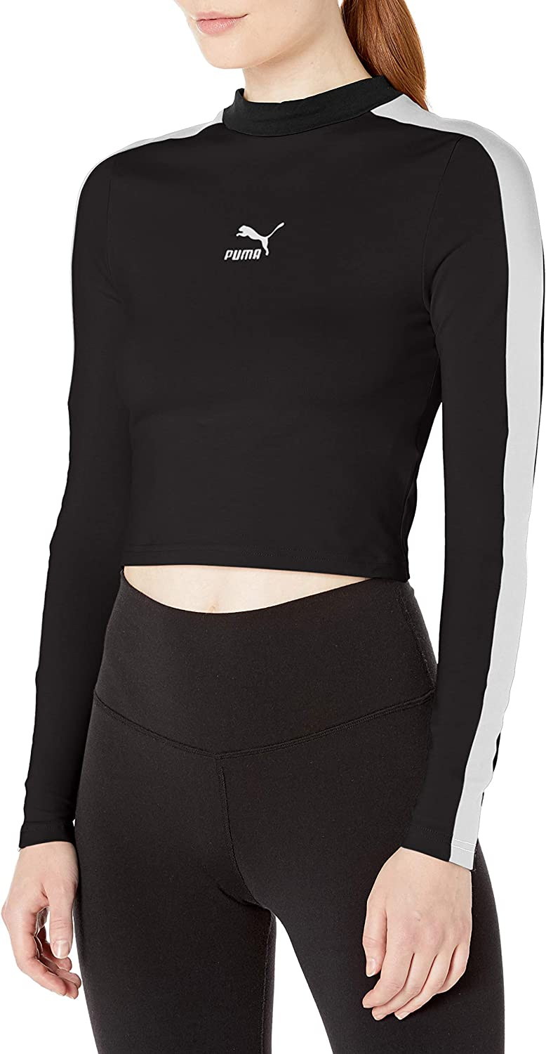 puma cropped long sleeve Shop Clothing & Shoes Online