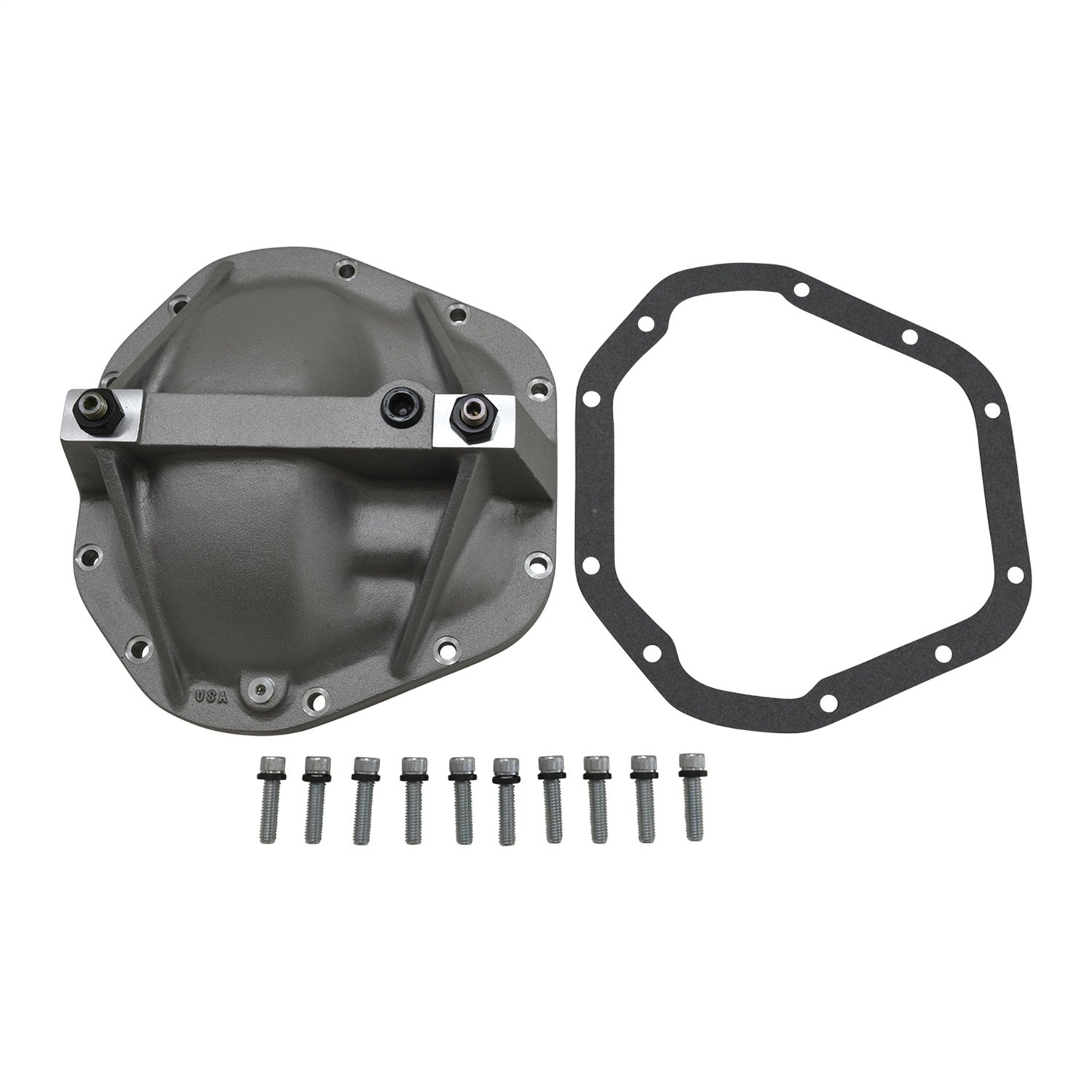 Yukon (YP C3-D70) Aluminum Replacement Girdle Cover for Dana 70 TA HD Differential