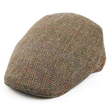 Olney Herringbone Wool Newsboy Cap