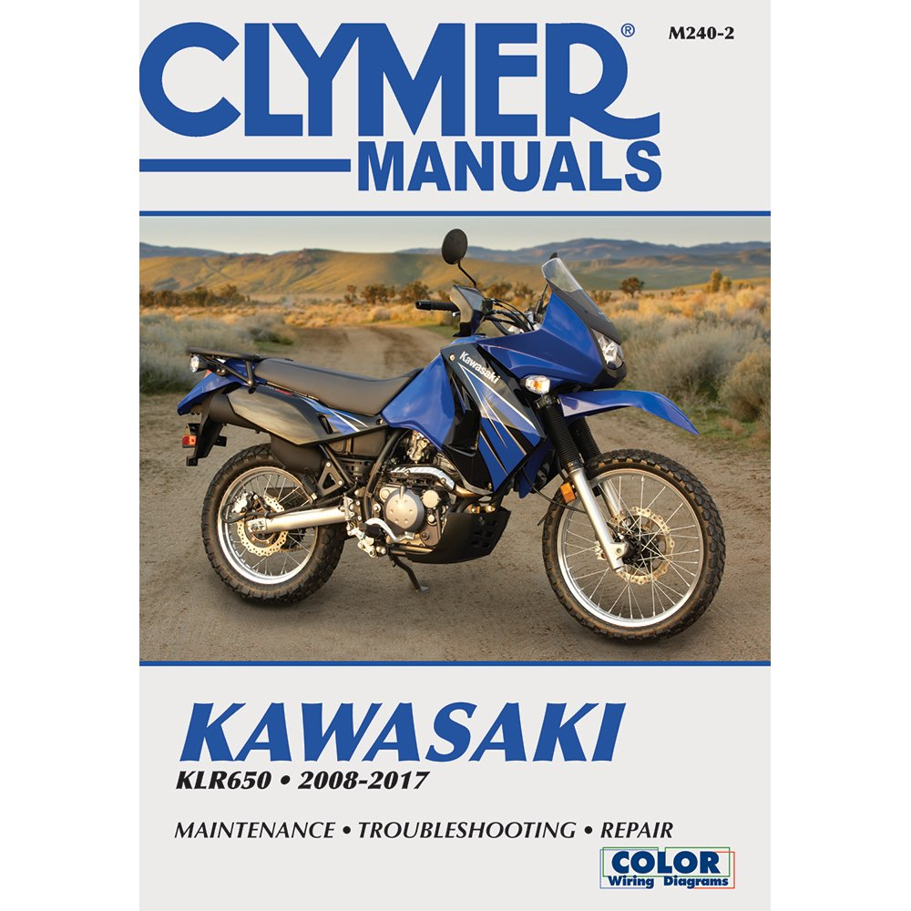 amazon com clymer kawasaki klr650 (2008 2012) automotive klr 650 wiring diagram 2008 2003 klr650 wiring diagram #47