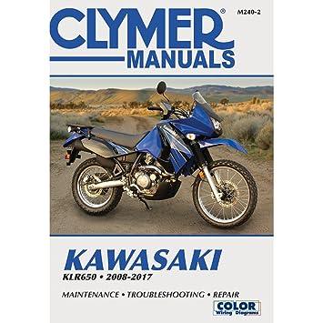 amazon com clymer kawasaki klr650 2008 2012 automotive rh amazon com 2012 Kawasaki KLR 650 MPG 2012 KLR 650 Rumors
