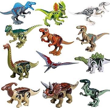 Jurassic World 2 INDORAPTOR  Building Blocks Action Figure REX Dinosaur Toy