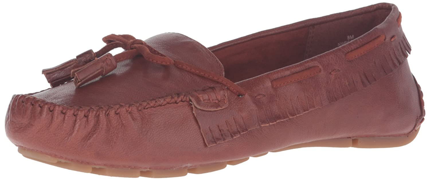 Amazon.com   Nine West Womens Begone Leather Moccasin   Loafers & Slip-Ons