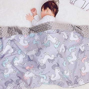 Double-sided 3D Microfiber Baby Blanket Pram Cot Bed Boy Girl Unisex 0m+