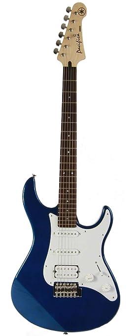 Yamaha Electric Guitar & Basic Pack - Pacifica 012 (Dark Blue ...