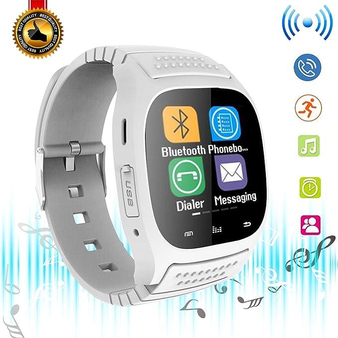 da0c7cb523f Bluetooth Smart Watch Touch Screen Smart Wrist Watch Smartwatch with  Pedometer Sport Tracker Answer Call Music