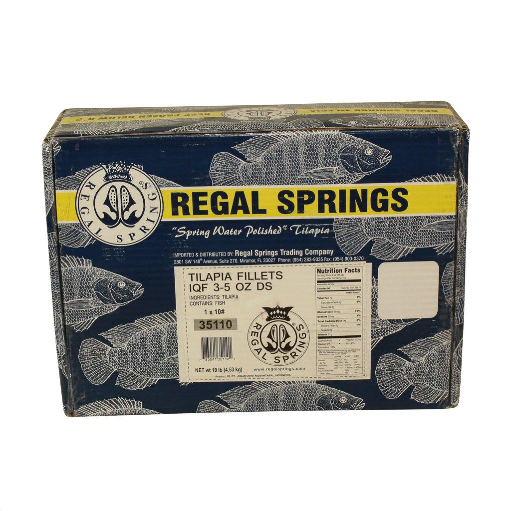 Regal Springs, Tilapia Fillets, 10 lb