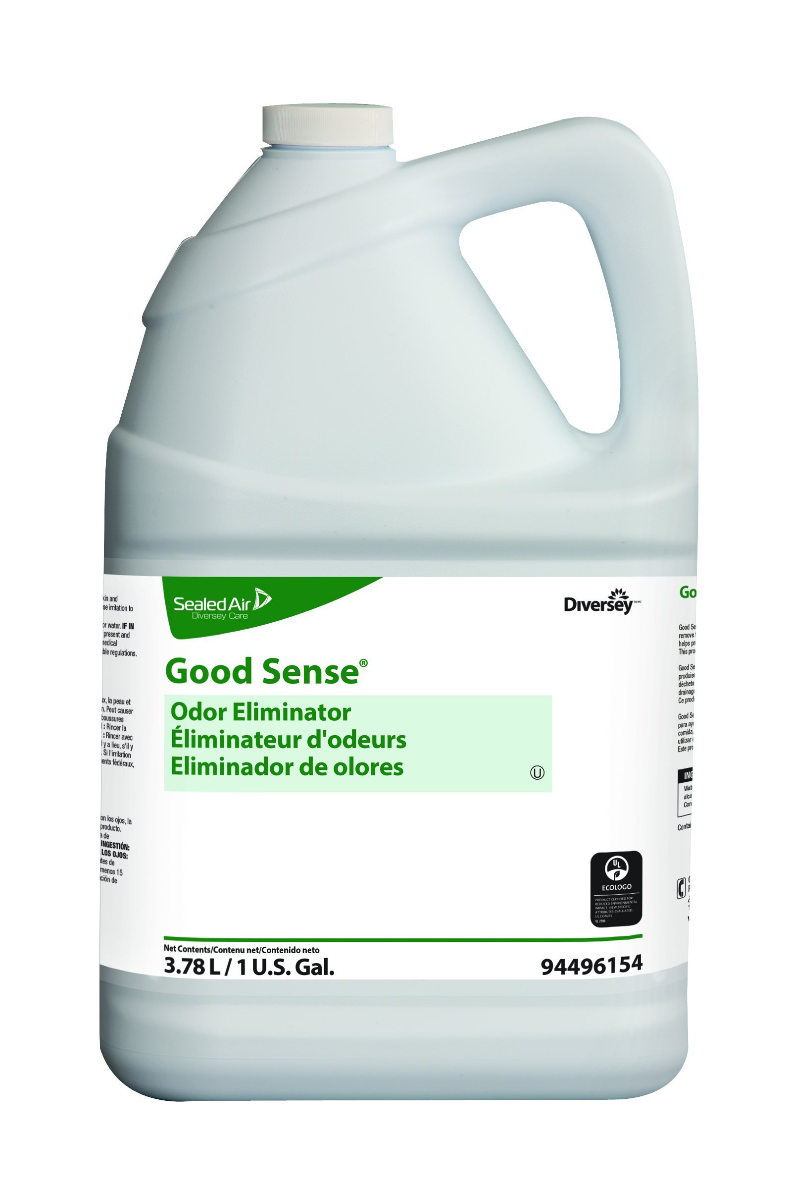 Diversey Good Sense 94496154 Odor Eliminator, 4 x 1 gal/3.78 L Containers (Pack of 4) by Diversey
