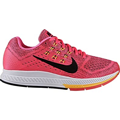 outlet store fb329 80195 NIKE W Nike Air Zoom Structure 18 Womens Running Shoes  Amazon.co.uk  Shoes    Bags