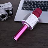 PUREVIEW Handheld Wireless Microphone with Bluetooth Speaker for All IOS/Android Smartphones (Colour May Vary)