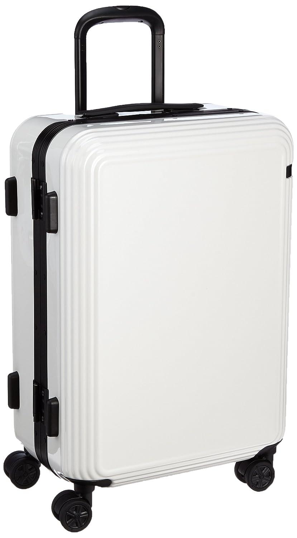[エース] スーツケース リップルF キャスターストッパー付 49L 54cm 4.4kg 05552 B01BUOR5TI ホワイト ホワイト