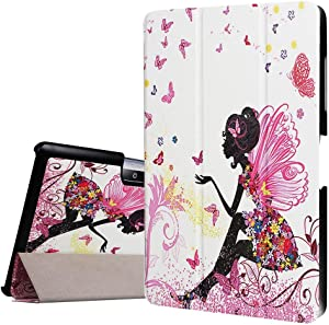 Acer Iconia One 10 B3-A30 10.1-inch Case,Case for Acer Iconia Tab 10,Case for Acer Iconia Tab 10,Ultra Slim Back Case Light Weight Cover for Acer Iconia One 10 B3-A30 Skin with Stand Feature,Elf Girl