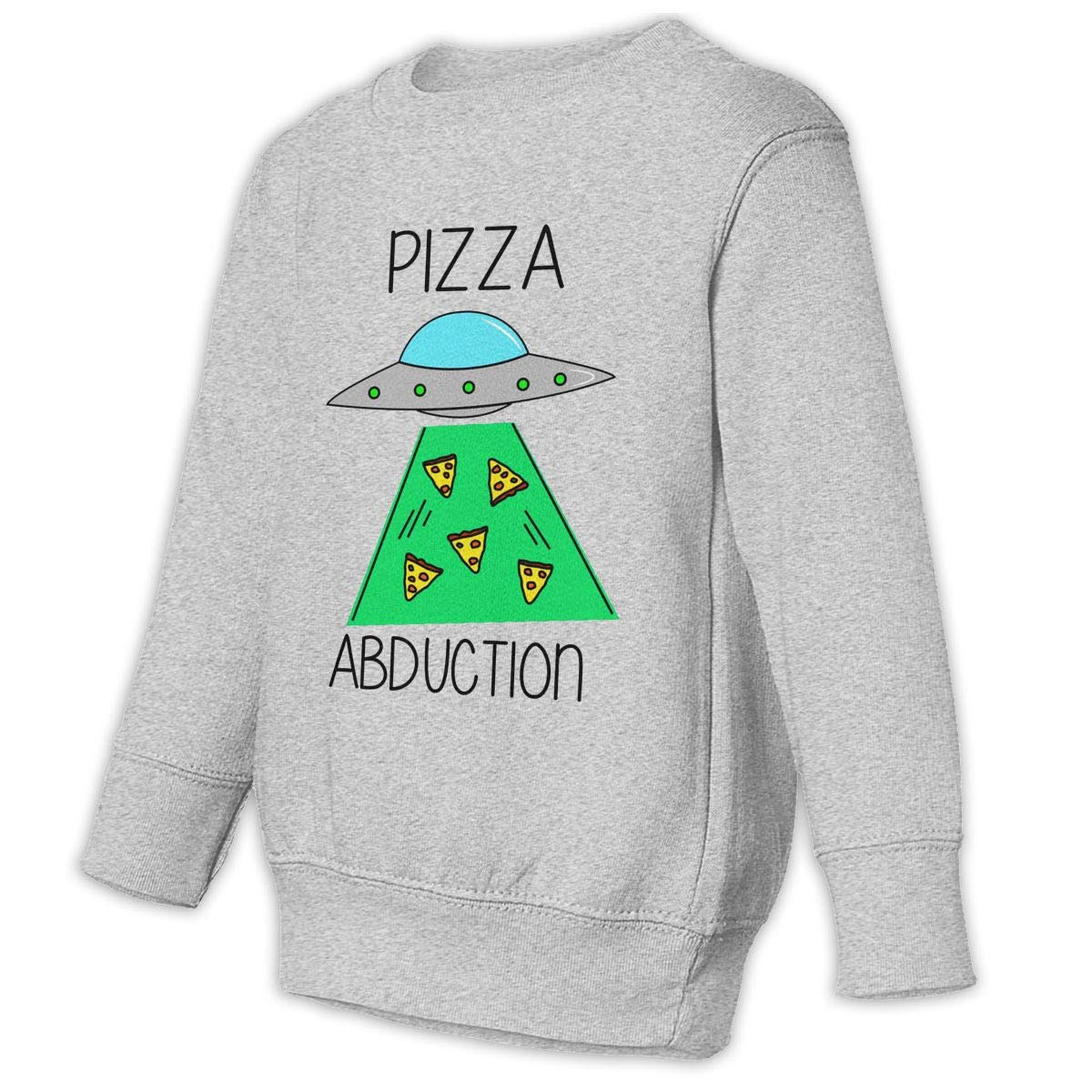 Funny Pizza Abduction Baby Sweatshirt Stylish Toddler Hoodies Comfortable Outfits