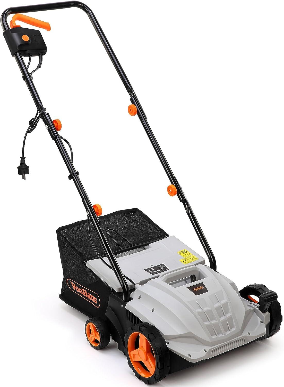 WALTER Elektro-Vertikutierer mit Rasenlüfter 2in1 1500W