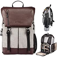 TARION Professional DSLR Camera Backpack Photography Bag Large Capacity Travel Gadget Bag for Cameras Accessories with Water-Repellent Rain Cover Tripod Holder