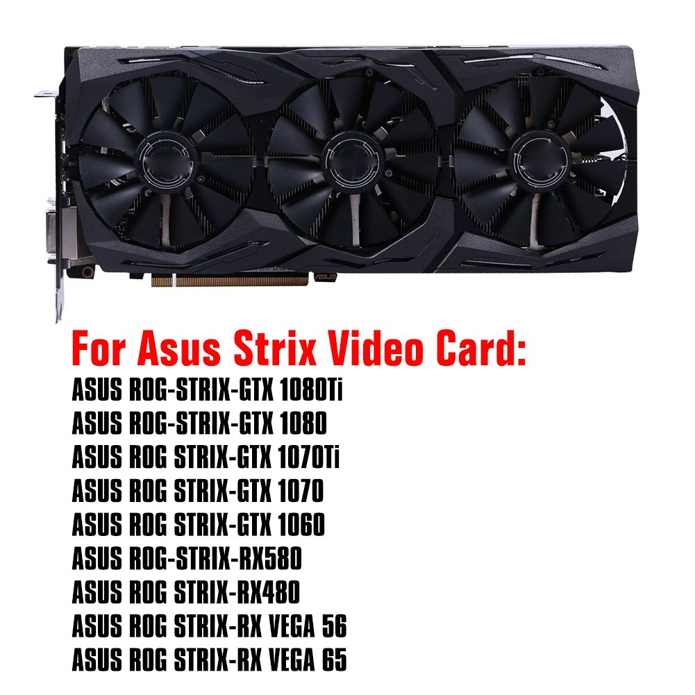 88MM PLD09210S12M And PLD09210S12HH Graphics Card For ASUS Strix GTX