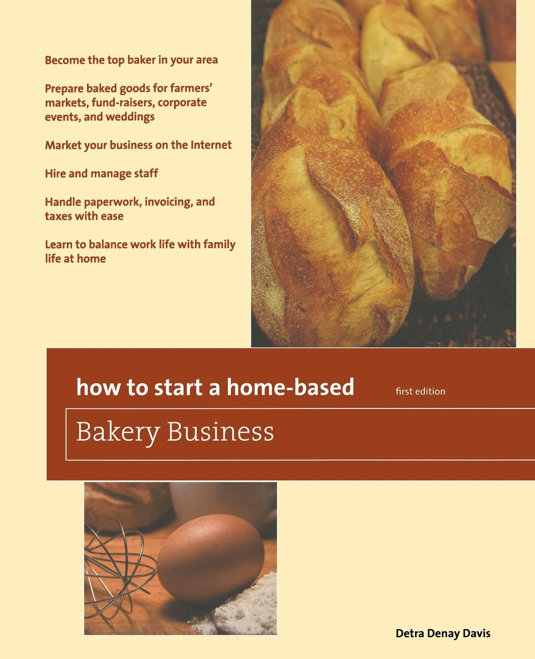 Download How to Start a Home-Based Bakery Business (Home-Based Business Series) pdf epub