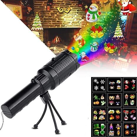 Navidad Luces de Proyector LED Proyector de luz Musical de Navidad ...