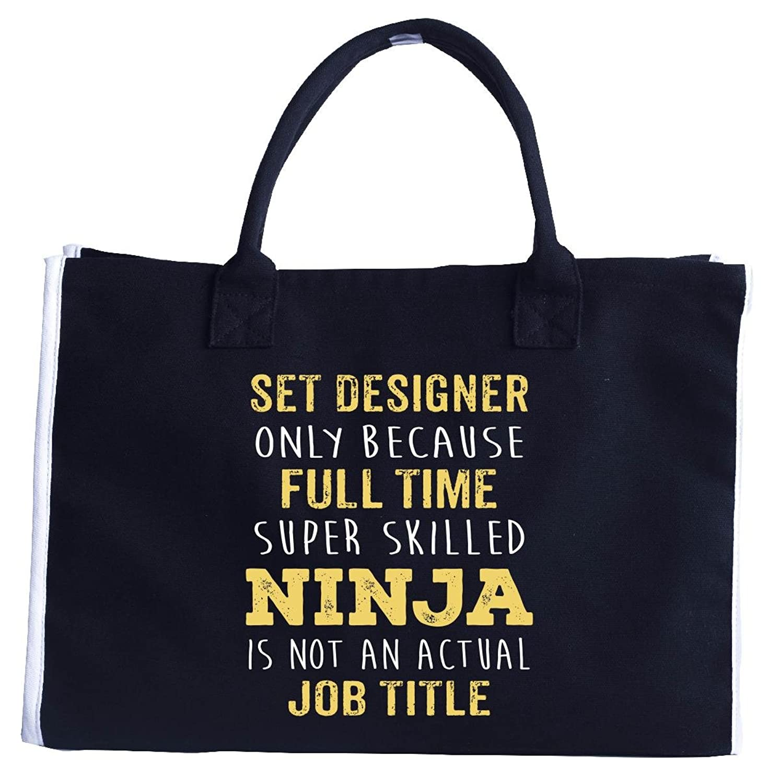 Best Gift Idea For A Super Skilled Ninja Set Designer - Fashion Tote Bag