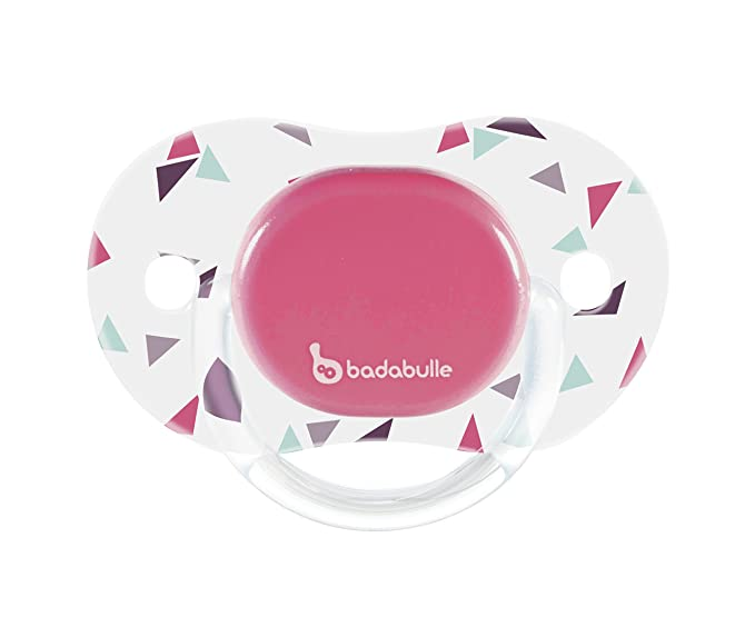 badabulle giratoria Chupete 6 - 12 meses rosa: Amazon.es: Bebé