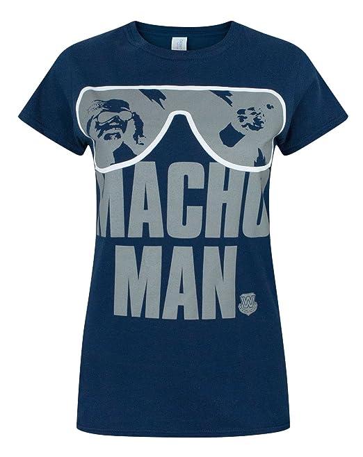 Mujeres - WWE - Macho Man Randy Savage - Camiseta: Amazon.es: Ropa y accesorios