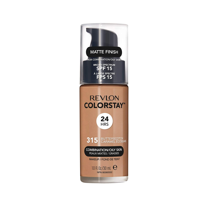 Revlon ColorStay Liquid Foundation For Combination/oily Skin, SPF 15 Butterscotch, 1 Fl Oz