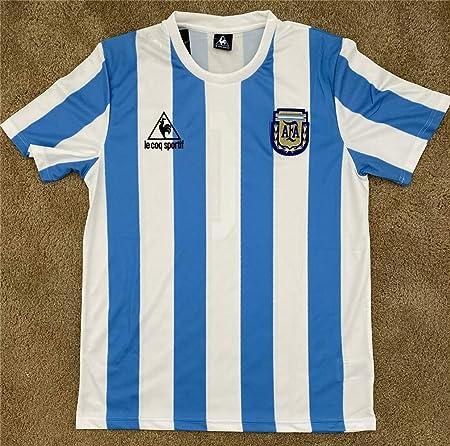Maglia maradona argentina - mondiali mexico86 B08P5HL1GJ