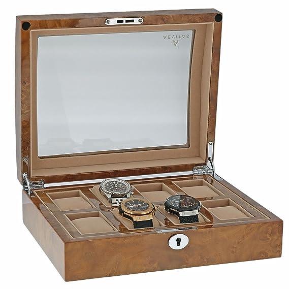Reloj de pulsera para mujer de alta calidad de los coleccionistas de la caja de la
