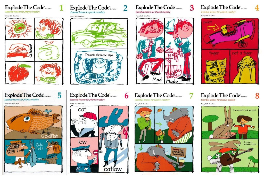 Essential Lessons for Phonics Mastery Explode the Code 7