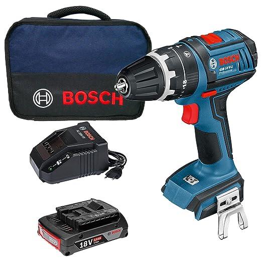 Bosch GSB 18V-LI Professional - Taladro atornillador de ...