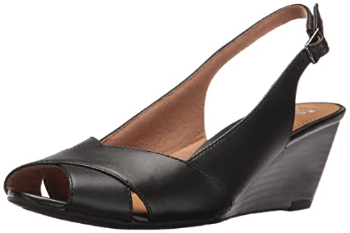 0eb5d6f65e78 Clarks Women s Brielle Kae Wedge Pump  Buy Online at Low Prices in ...