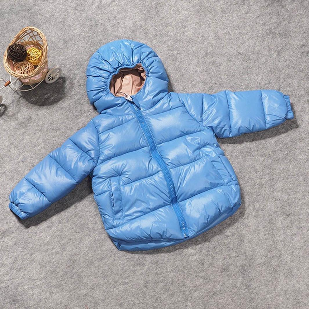 changeshopping Newborn Baby Jackets Childrens Boy Girl Outerwear Winter Snowsuit