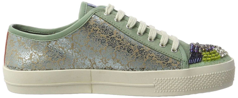 XYXYX Sneaker, grün, khaki