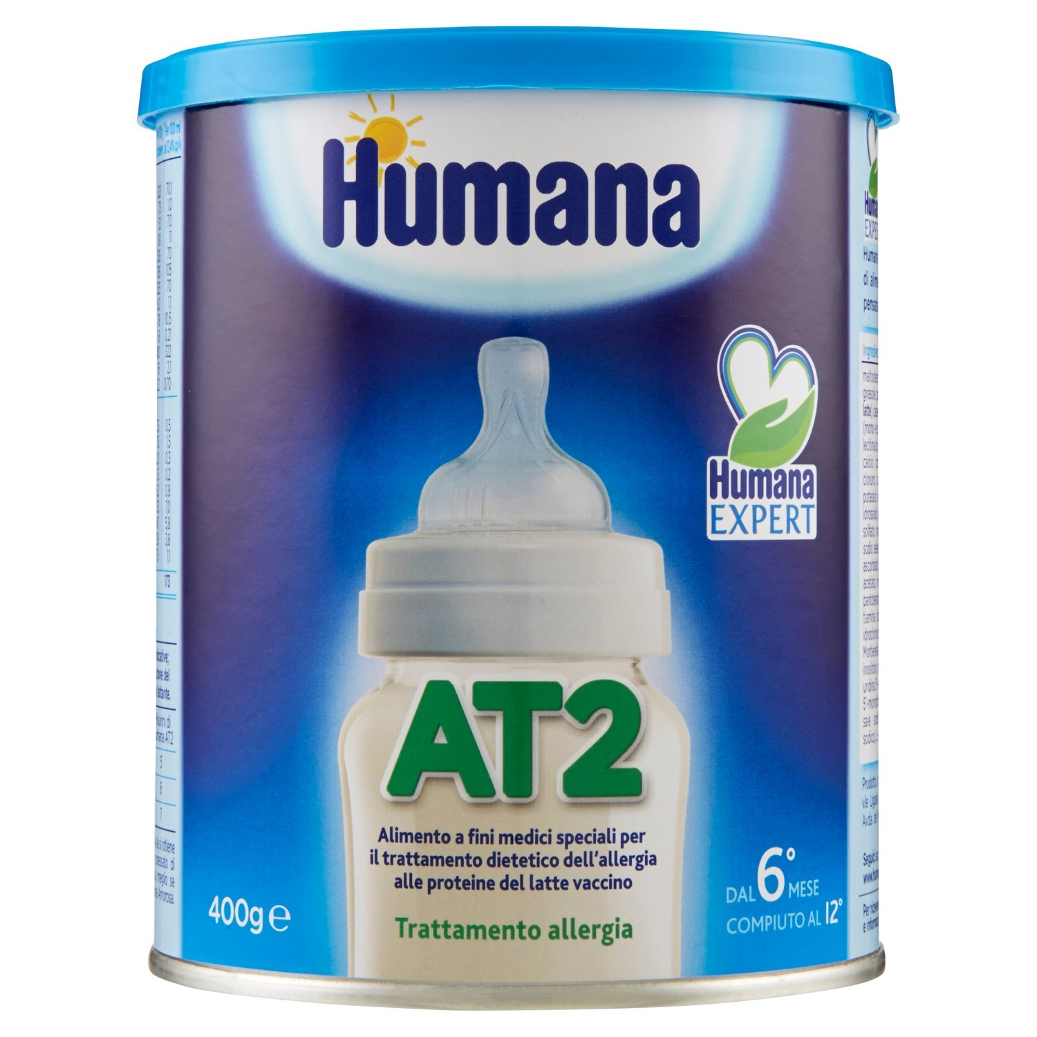 Amazon.com: Humana Humana AT1 Expert Allergy Treatment 400g: Health & Personal Care