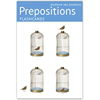 Picture My Picture Prepositions Flash Cards | 40 Positional Language Development Educational Photo Cards | 5 Learning…