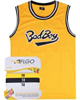 AFLGO Biggie Smalls 72 Bad Boy Notorious Include Set Wristbands S-XXL Yellow