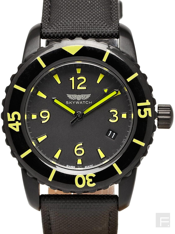 SkyWatch Analog Black Dial Men's Watch - CC1011