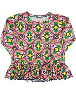 26NSHIRT Moon Kids Baby Girls Short Sleeve Graphic Shirts