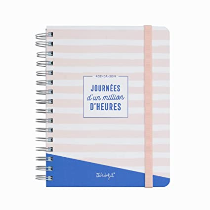 Agenda (clásico mr. Wonderful 2019: Amazon.es: Oficina y papelería