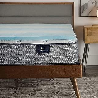 product image for Serta Comfort Cool 1.5-in Gel Memory Foam Mattress Topper, Full