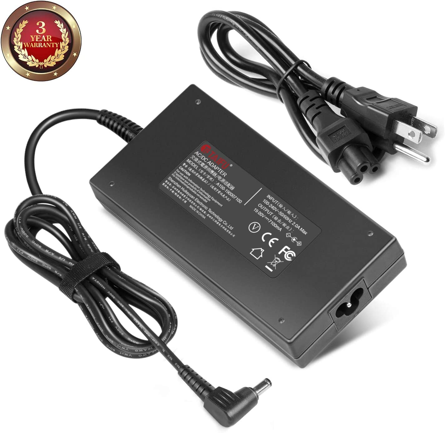 TAIFU AC Adapter Charger for 19V 135W Acer Aspire V Nitro VN7-591G VN7-791G VN7-591G-74SK,VN7-591G-70JY,VN7-591G-792U Notebook Power Supply