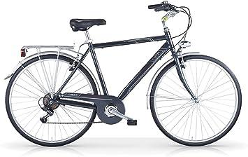 Bicicleta de paseo MBM Central para hombre cuadro de aluminio ...