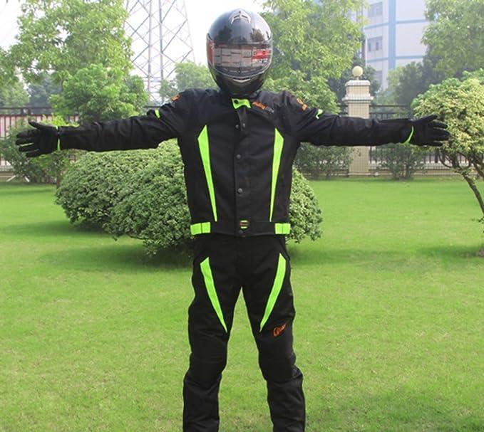 Amazon.com: Riding Tribe JK-37 - Traje de motociclista y ...