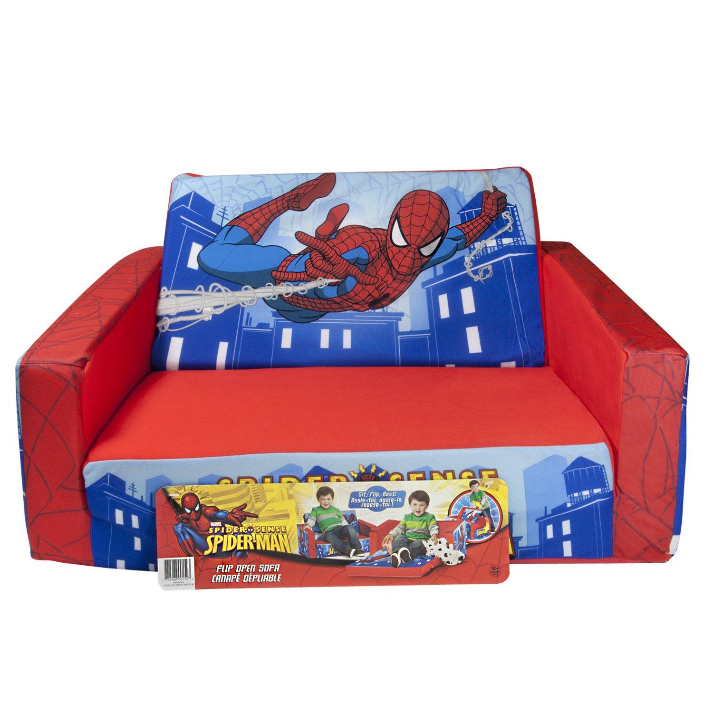 Amazon.com: Marshmallow Childrenu0027s Furniture   2 In 1 Flip Open Sofa    Marvel Spiderman: Toys U0026 Games
