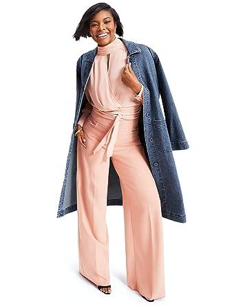 13f9c6d3 Women's Gabrielle Union Collection - Petite Tie-Back Blouse at Amazon  Women's Clothing store: