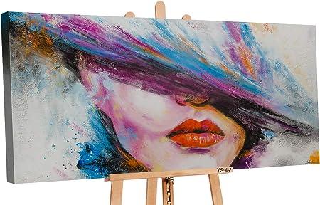 YS-Art Tableau Peinture Acrylique La Muse|