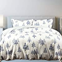 QE Home- Holiday Duvet Cover Set - Tree Star