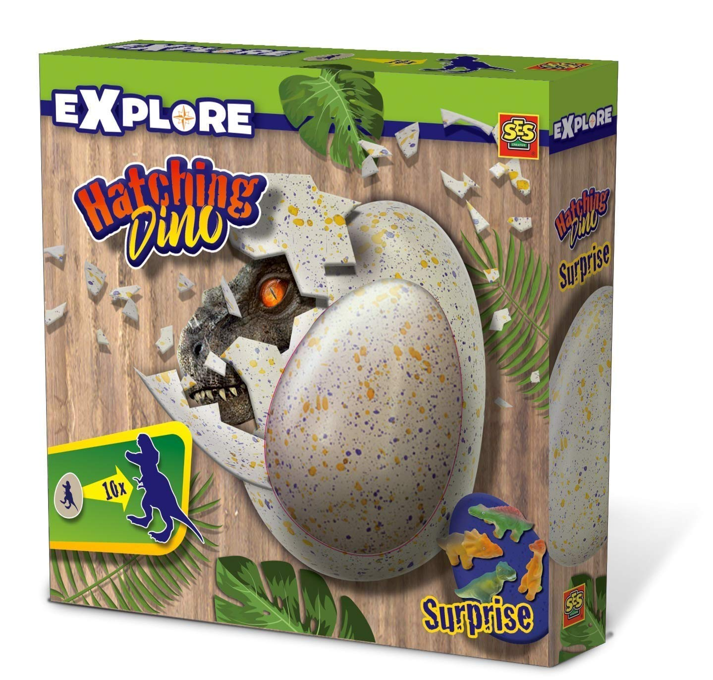SES Creative 25063 Hatching Dino, Diverse Colours