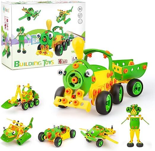 Magnetic Building Blocks 3D Educational Construction 142 Pcs Gift Toys for Kids