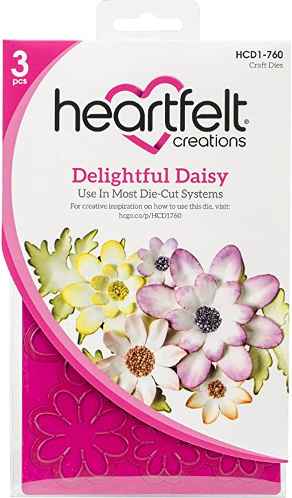 Heartfelt Creations Delightful Daisy Cling Stamp Set